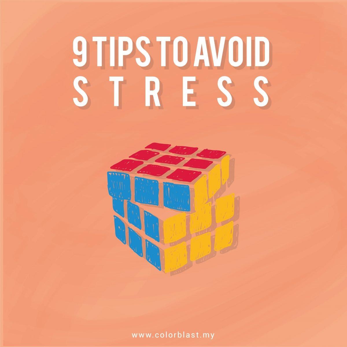 [TIPS COLOR BLAST]: 9 cara untuk atasi stress di tempat kerja!
